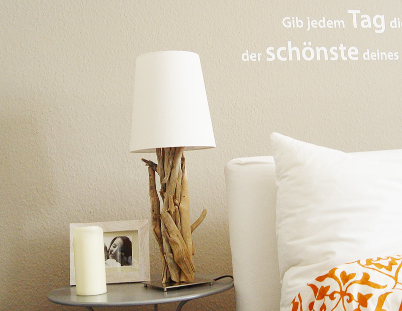 wunderbare einzelst cke treibholzlampen. Black Bedroom Furniture Sets. Home Design Ideas
