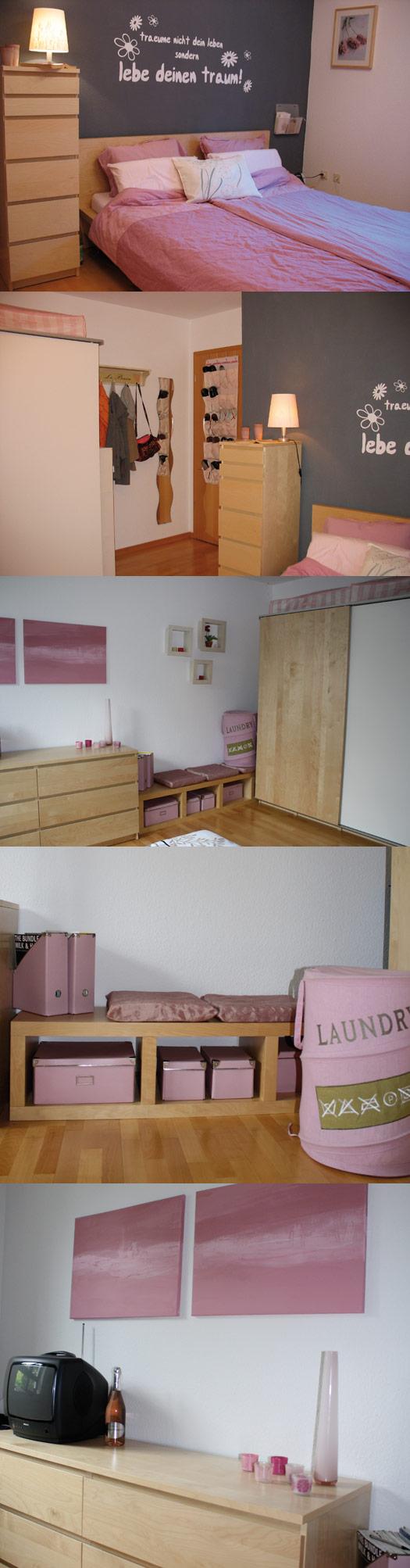 Schlafzimmer Vorher Nachher : Schlafzimmer vorher – nachher – sanviede[R