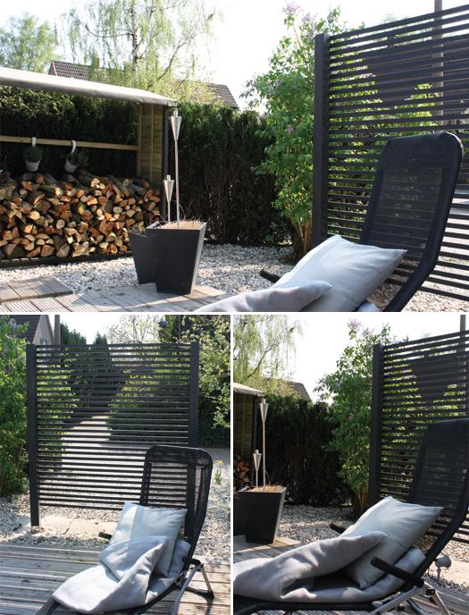 diy projekt sichtschutz. Black Bedroom Furniture Sets. Home Design Ideas