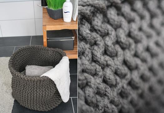 neues lieblingsst ck ein riesiger strickkorb. Black Bedroom Furniture Sets. Home Design Ideas