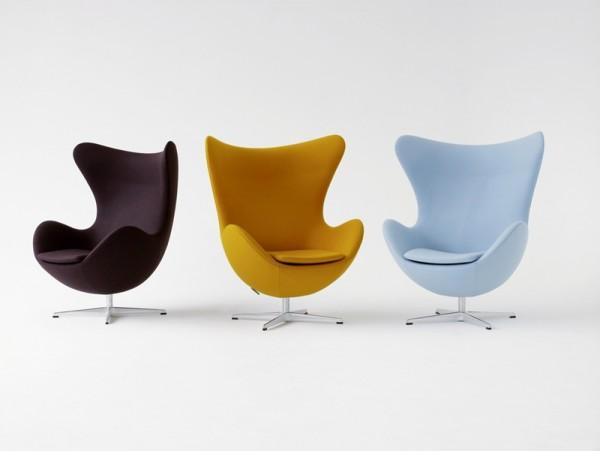 Lieblingsstuhl Fritz Hansen Egg Chair Von Arne Jacobsen 1958