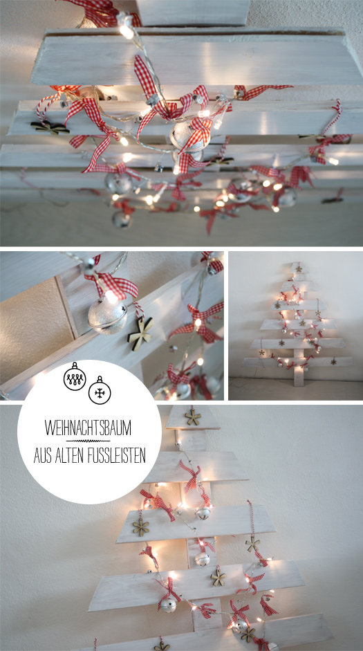 diy weihnachtsdeko aus abf llen und haushaltsutensilien. Black Bedroom Furniture Sets. Home Design Ideas