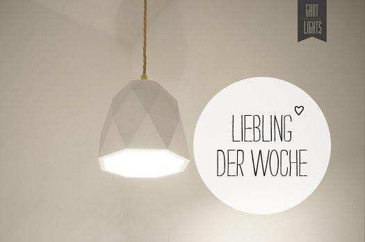 Liebling der Woche: Gantlights | sanvie.de