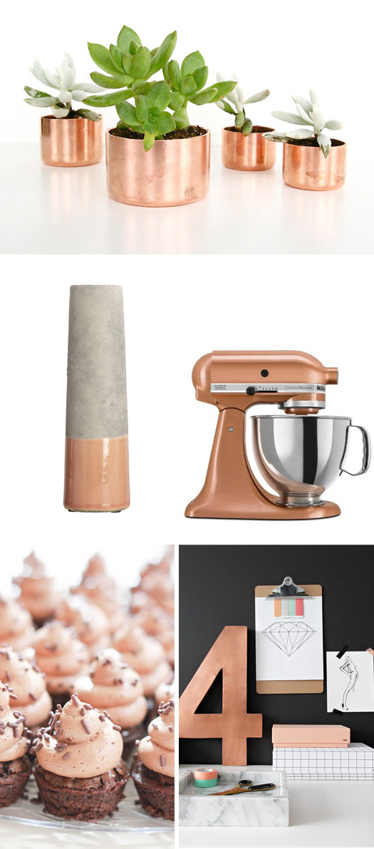 1000 images about copper on pinterest tom dixon house doctor and interiors. Black Bedroom Furniture Sets. Home Design Ideas