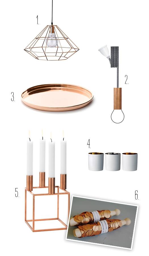 trendfarbe kupfer. Black Bedroom Furniture Sets. Home Design Ideas