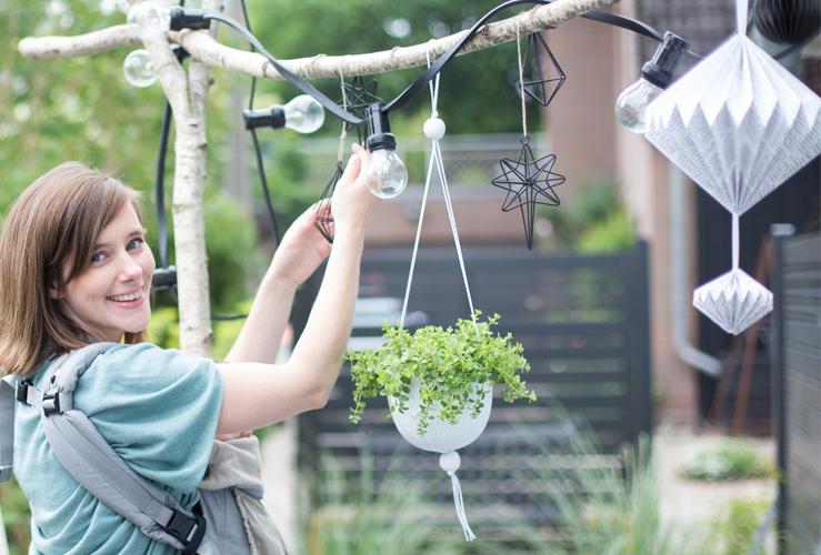 Ein DIY Projekt für Drinnen und Draußen