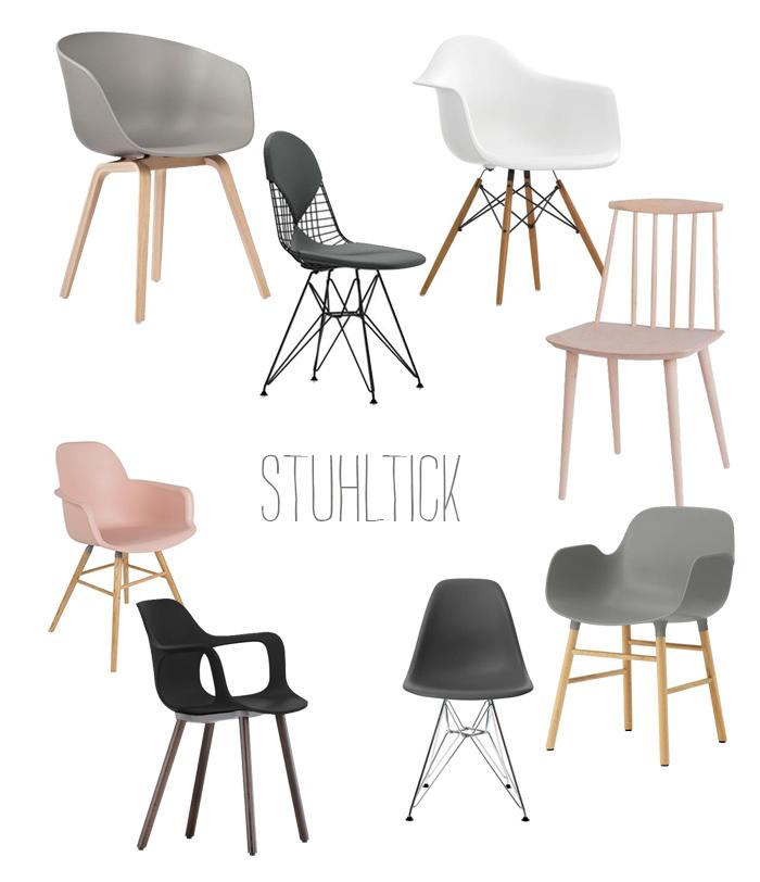 Mein Mamastuhl Vom Niederländischen Lable Zuiver, Den HAY About A Chair U2013  Stuhl Und Die Kopie Des Vitra Klassikers EAMES DAW Plastic Arm ...