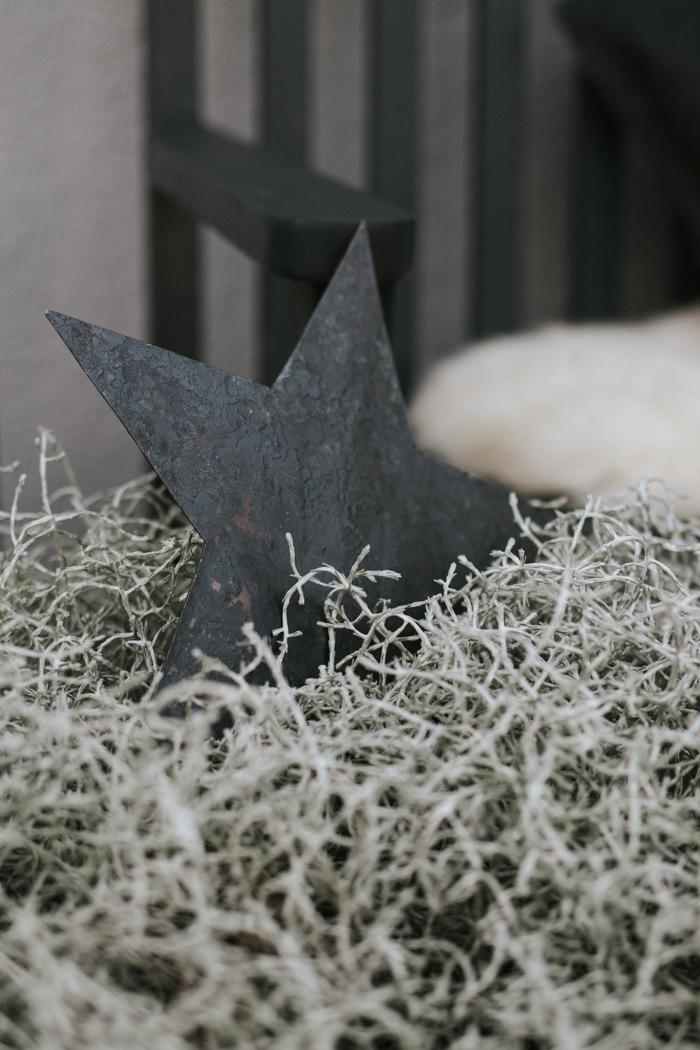 Weihnachtsdeko Für Die Tür.Natürliche Weihnachtsdeko Vor Der Tür Sanvie De