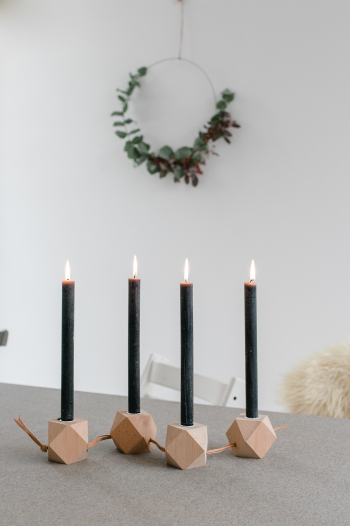 diy adventskranz modern und schlicht. Black Bedroom Furniture Sets. Home Design Ideas